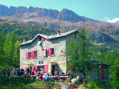 Foto rifugio Bosio/Galli